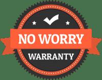 Badge Hobaica No Worry Warranty