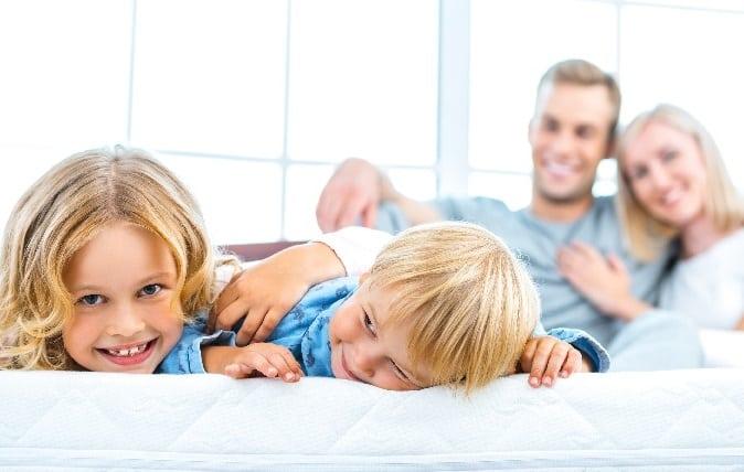 Family Enjoying Time Indoors