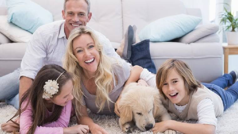 Indoor Air Quality Happy Family 53237632729